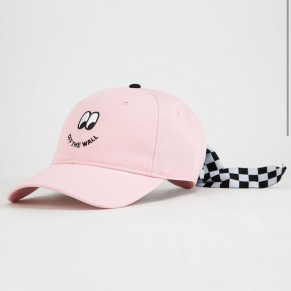 X Lazy Oaf Cap With Bow Back - Pink Vans zpp63O7